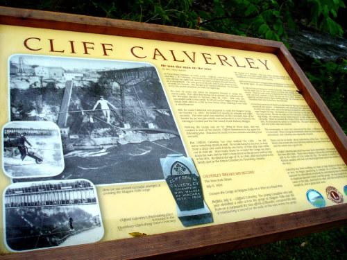 Clarksburg Beaver River historical plaque