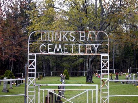 dunks bay cemetary