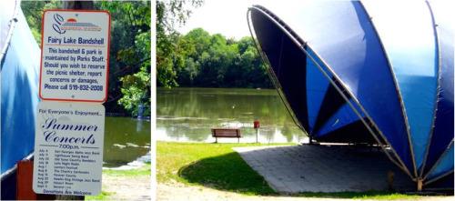 Fairy Lake Ontario bandshell