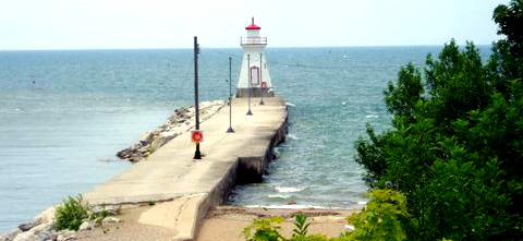 Lighthouses Range Light Saugeen River
