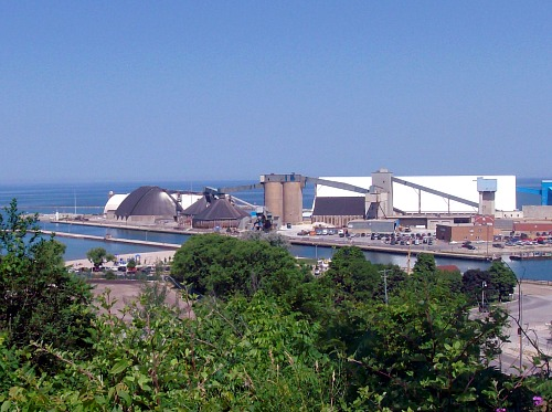 goderich salt refinery and mine