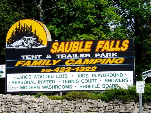 SAuble Falls Tent & Trailer Park