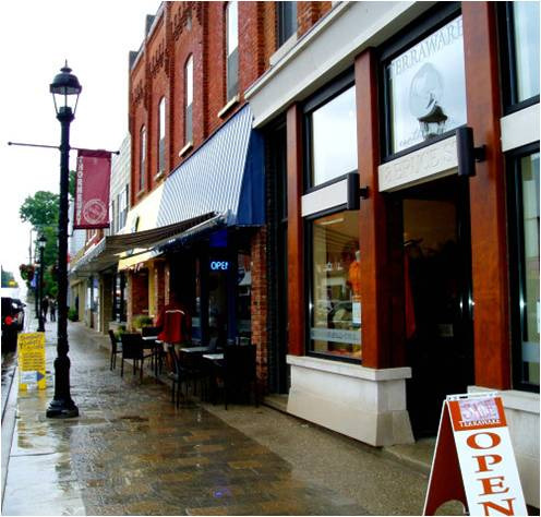 Thornbury downtown
