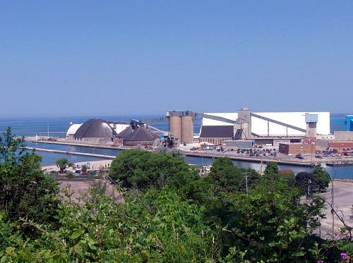 goderich salt refinery and mine