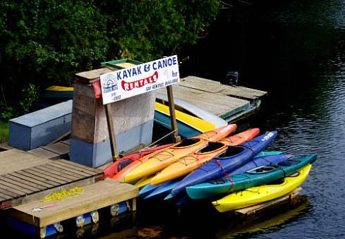 Sauble River Canoe